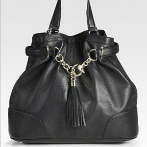 Authentic GUCCI Sienna Horsebit Tassel Bag